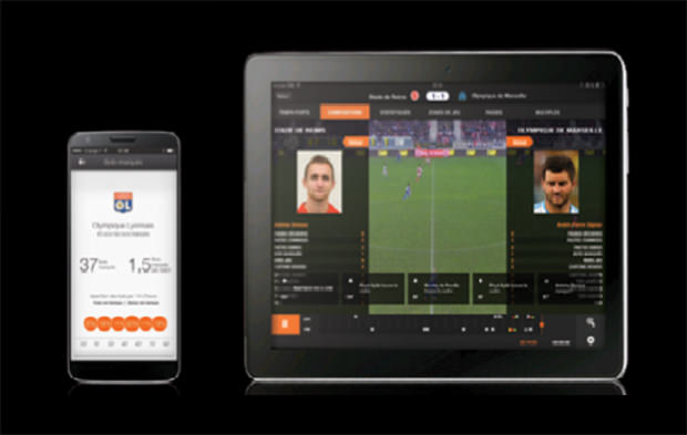 Application Ligue 1 d'Orange : tout le championnat à 5€/mois