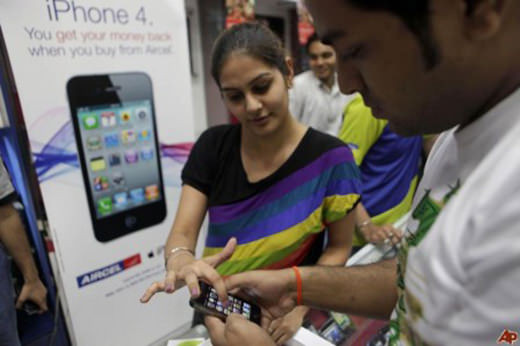 Apple retire l'iPhone 4 du marché indien