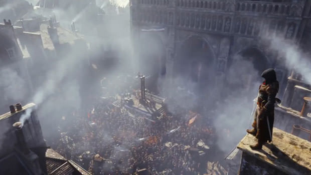 Image du future «Assassin's Creed», «Unity».