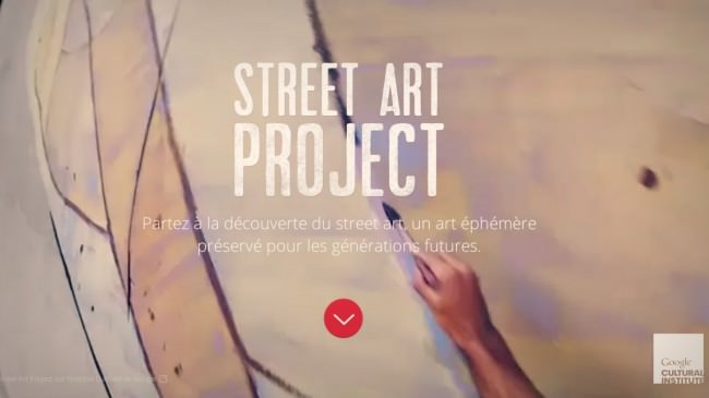 Google immortalise le Street Art grace à son institut culturel en ligne