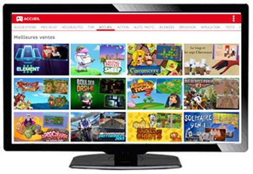 SFR : des jeux vidéo convergents sur mobile et sur TV