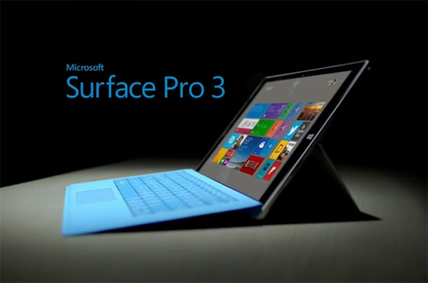 Surface Pro 3 : prise en main de l'hybride tablette/PC de Microsoft