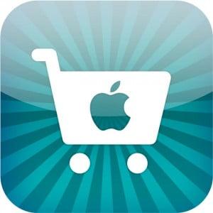 Logo application Apple Store