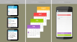 Un agenda pour votre montre Android Wear
