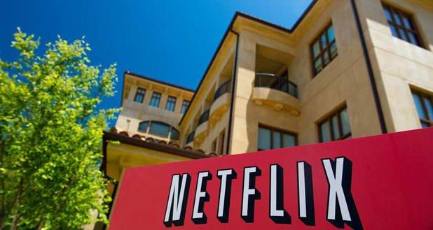 L'entrée du siège de Netflix, à Los Gatos en Californie. La start-up s'installe en France à la rentrée.
