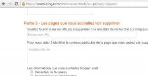 """Bing propose à son tour le """"droit à l'oubli"""" en Europe"""