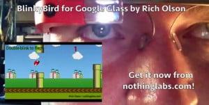 Voici BlinkyBird, le clone de Flappy Bird pour les possesseurs de Google Glass