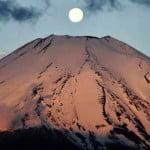 La dernière éruption du mont Fuji remonte à 1707.
