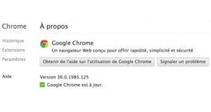 Chrome 36 : nouveau mode Incognito et support de Chromecast sur Android