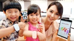 LG lance un bracelet connecté pour suivre à la trace vos enfants
