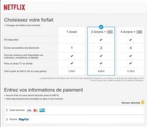 Une mystérieuse capture d'écran se présentant comme la page d'abonnement de Netflix en France circule sur Twitter.