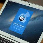 Le logiciel Shazam fonctionne discrètement en arrière-plan de votre Mac, prêt à identifier un morceau en un instant.