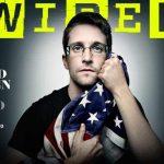 La une du numéro d'août de Wired est consacrée à Edward Snowden.