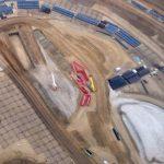 Le début des travaux du futur campus d'Apple dévoilé en photos