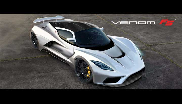 plus de 1 400 chevaux pour la future hennessey venom f5. Black Bedroom Furniture Sets. Home Design Ideas