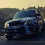 Range Rover Sport SVR, le SUV le plus rapide du monde