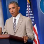 Le costume d'Obama enflamme les réseaux sociaux
