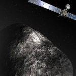 Rosetta avait rendez-vous avec une comète, comme l'illustre cette vue d'artiste de sa mise en orbite.