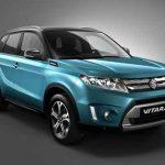 Dérivé du concept-car iV-4, le nouveau Vitara conserve une allure de vrai 4x4.