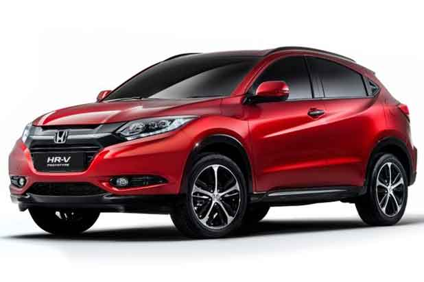 Nouveau Honda HR-V 2015 - Salon Paris 2014
