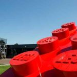 Le siège de Lego, à Billund, au Danemark.