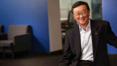 John Chen, le président exécutif et directeur général de BlackBerry.