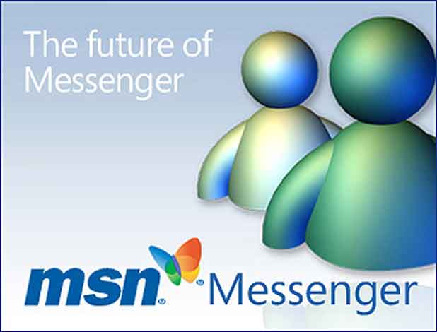 Messenger, MSN Messenger de son nom d'origine, devenu Windows Live Messenger, la messagerie instantanée de Microsoft lancée en 1999.