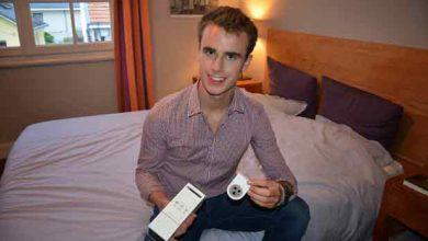 Guillaume Rolland et son prototype de réveil olfactif