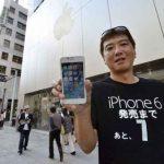 Il campe deux semaines sur le trottoir pour avoir son iPhone 6