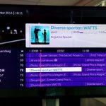 L'interface de ProximusTV