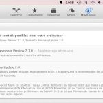 La DP7 de OS X Yosemite est disponible