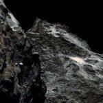 Photo prise de la comète, à moins de 62 km.