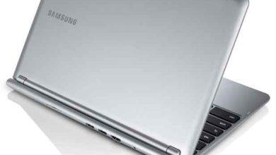 Un Chromebook commercialisé par Samsung.