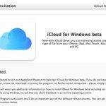 iCloud Drive s'invite en bêta privée sur Windows