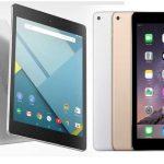 iPad Air 2 vs Nexus 9 : quel est le gagnant ?
