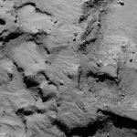 Site d'atterrissage de Philae. Illustration : ESA