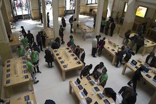 Apple Retail France a deux mois pour arrêter la vidéosurveillance de ses salariés