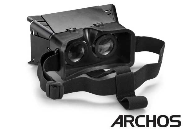 Archos VR Glasses, la réalité virtuelle Made in France