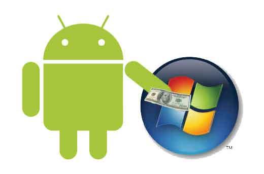 Brevets Android : Samsung a reversé 1 milliard de dollars à Microsoft en 2013