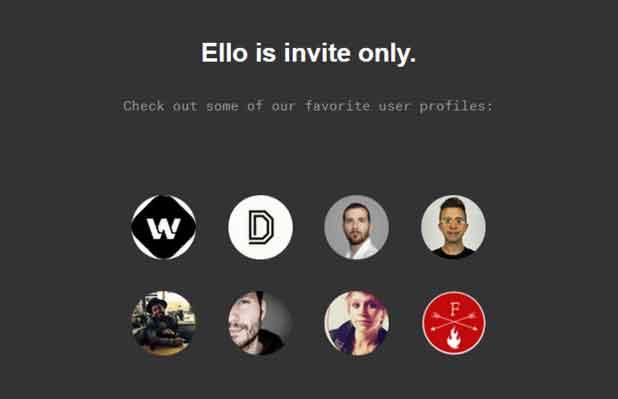 Le site Ello, fondé en 2013 par le créateur américain Paul Budnitz, fonctionne sans publicité.