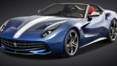 Un cabriolet à moteur V12 avant, c'est au passage une réplique à Aston Martin.