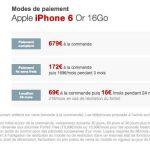 L'iPhone 6 arrive en location à 16 euros par mois chez Free