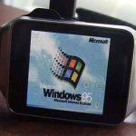 Android Wear : installer Windows 95 sur votre montre connectée, c'est possible