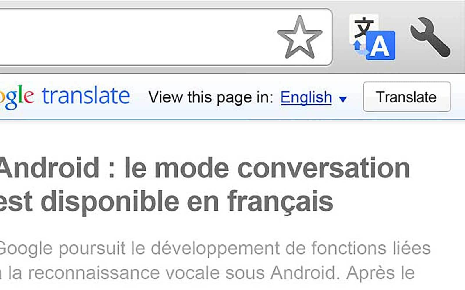 Chrome : une extension pour traduire instantanément les sites étrangers
