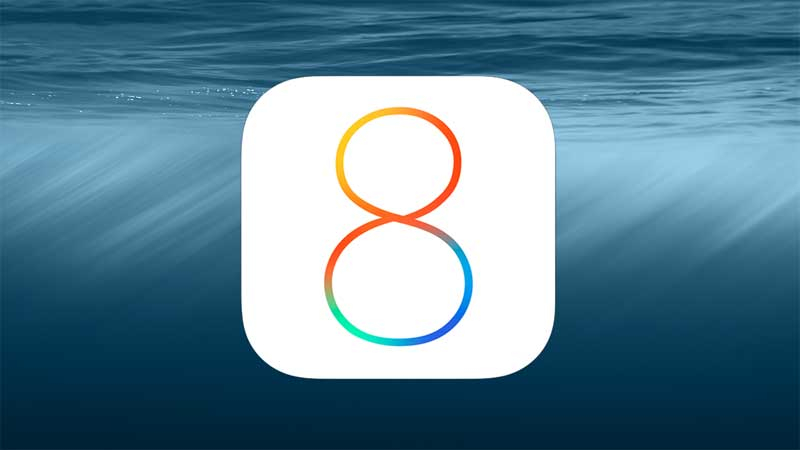 iOS 8 perce moins vite qu'iOS 7