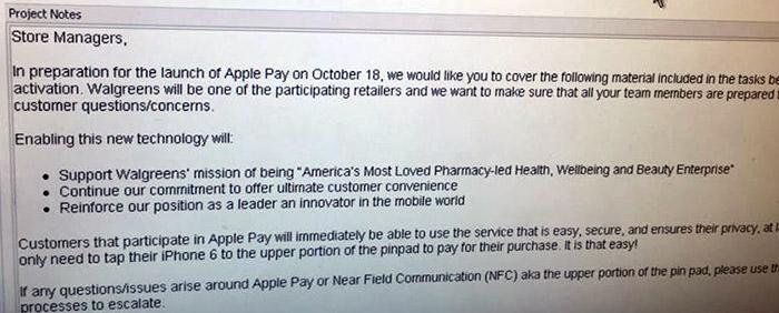 Apple Pay : lancement du service de paiement NFC pour le 18 octobre ?