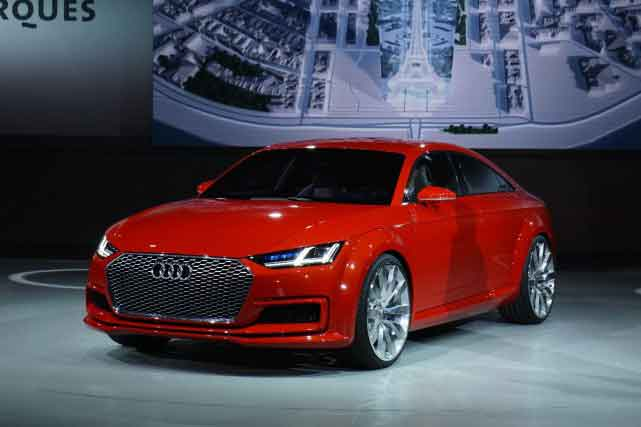 Mondial de Paris : Audi débarque avec une TT 5 portes