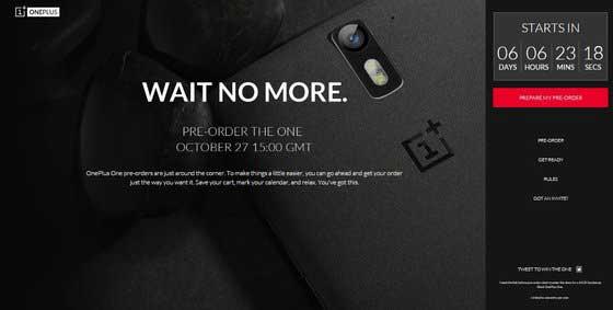 OnePlus One : des invitations à une précommande plus traditionnelle