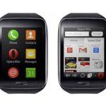 Opera Mini : le navigateur mobile léger dans la montre Samsung Gear S sous Tizen