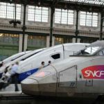 Des TGV à la gare de Lyon